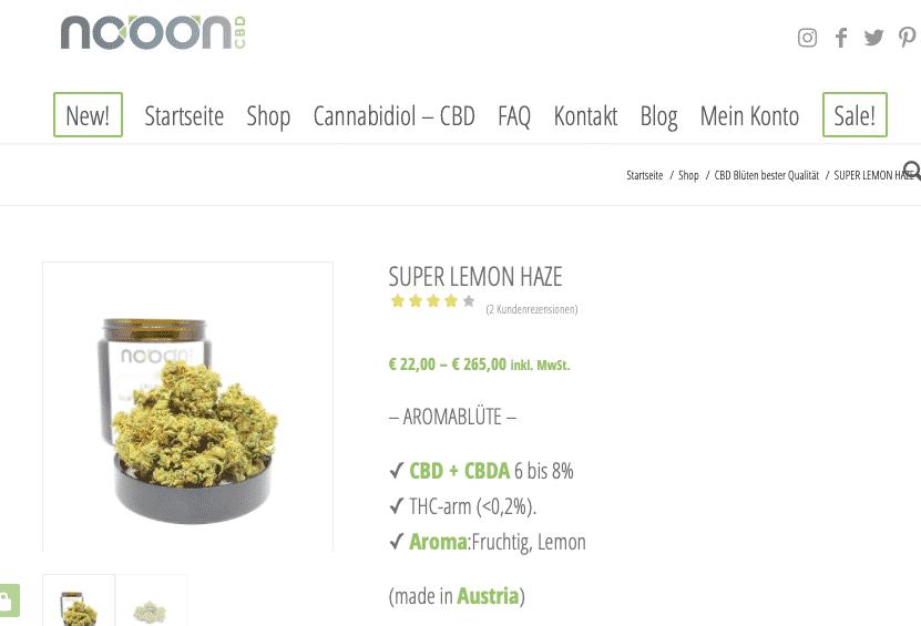 Screenshot von Nooon SUPER LEMON HAZE