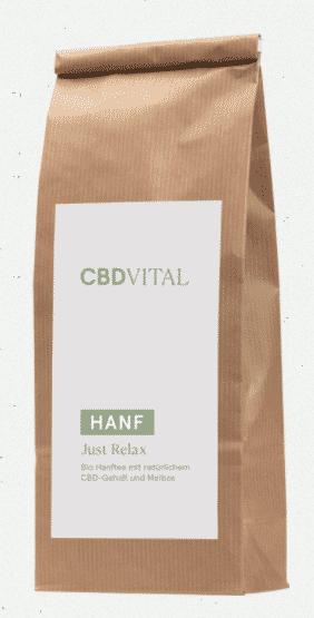 CBD Vital CBD Hanfblütentee Bio 1,5% - just relax