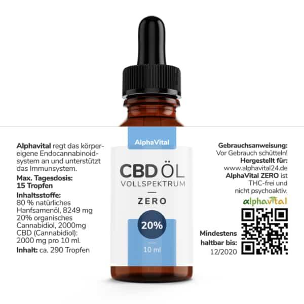 Alphavital ZERO - 10 und 20%