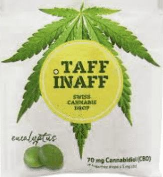 CBD Kaugummi TAFF INAFF 70 mg Cannabidiol