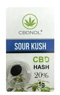 CBDNOL CBD Pollen - Sour Kush Hasch 20%