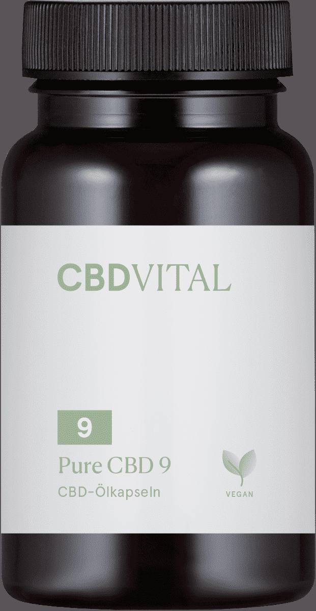 CBD Vital Pure CBD 9 (5%)